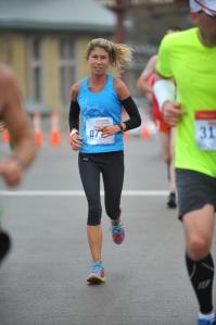 Qualifying for the Boston Marathon this year.